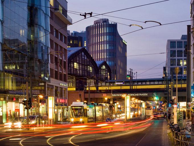 Archivbild Berlin / Friedrichstraße