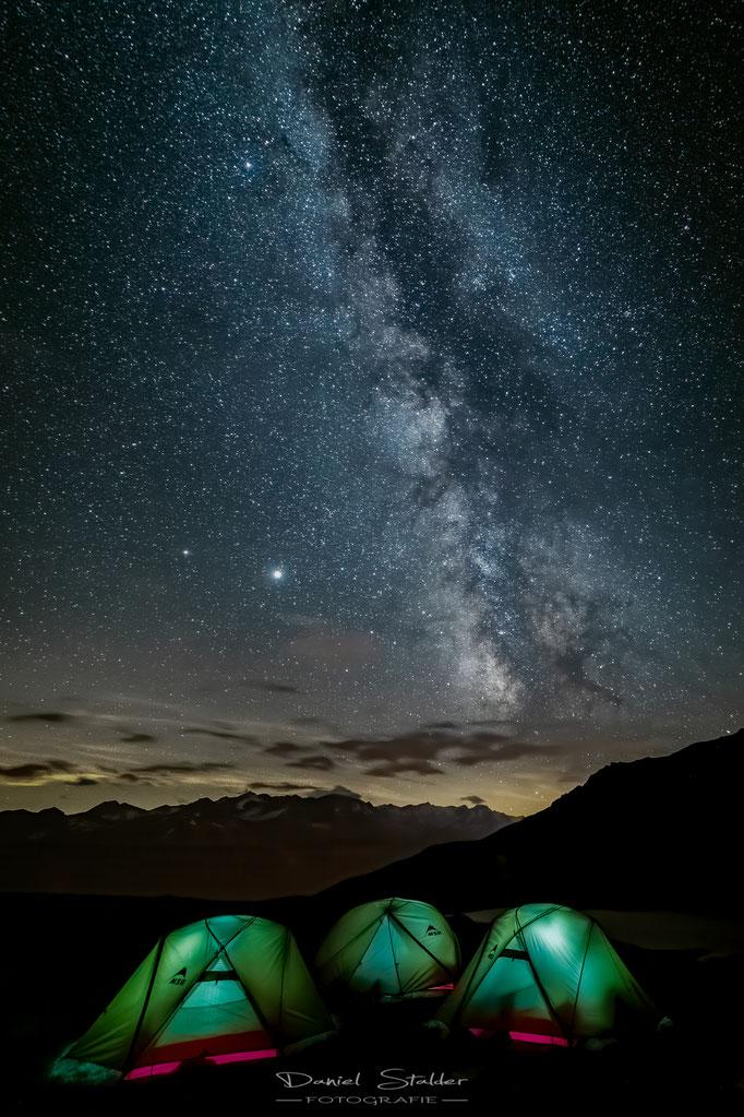 Übernachten unter dem Sternenmeer -N38-