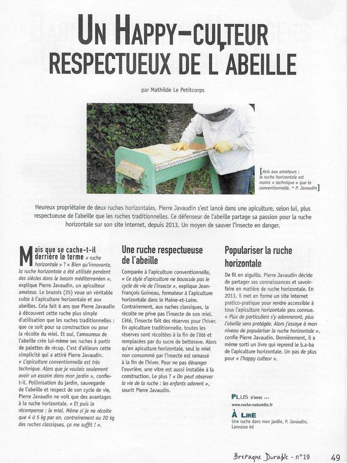 "Magazine "" Bretagne Durable"" (www.bretagne-durable.info) Avril2016"