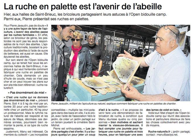 """Hebdomadaire """"Dimanche Ouest-France"""" du 7 juin 2015"""