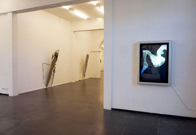 Ansicht Leuchtkasten Kunstraum 2017