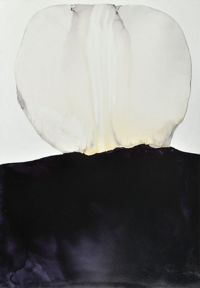 Zwiegespräch - Lack auf Holz - 1,75 x 1,22 m
