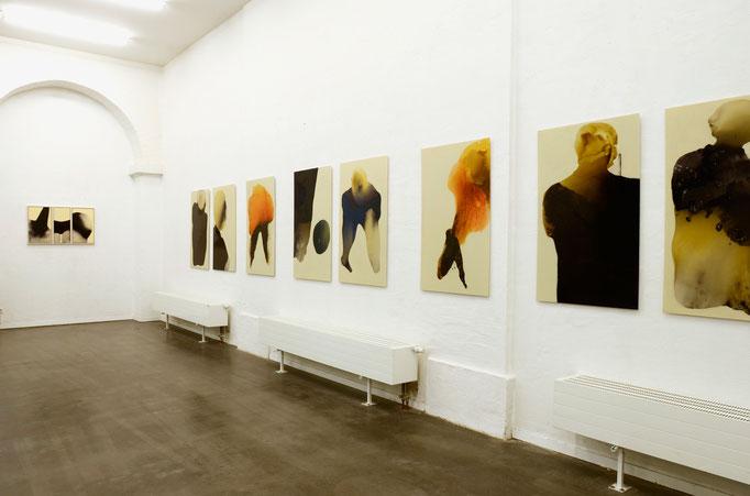 Blick in den Ausstellungssaal, Kunstraum 2017