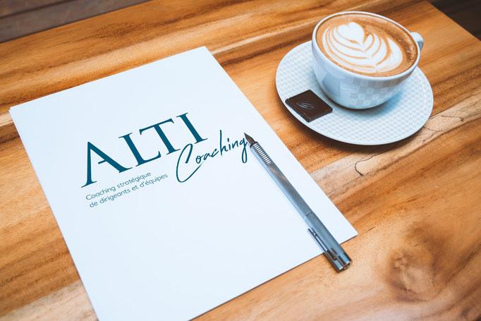 Création du logo et site ALTI COACHING