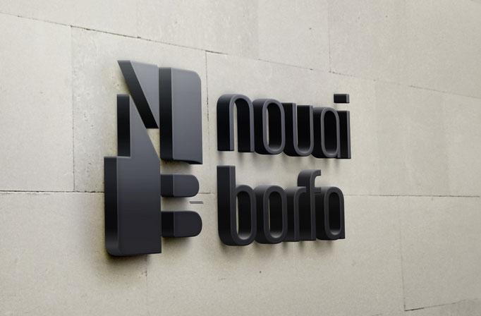 Création du logo et carte de restaurant NOUAI BORFA