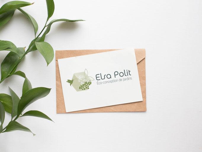 Création du logo et site internet ELSA POLIT