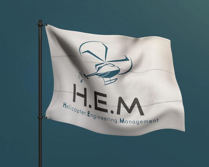 Création du logo et site internet HEM