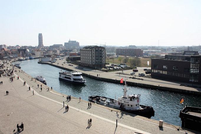 Urlaub im Alten Hafen in Wismar