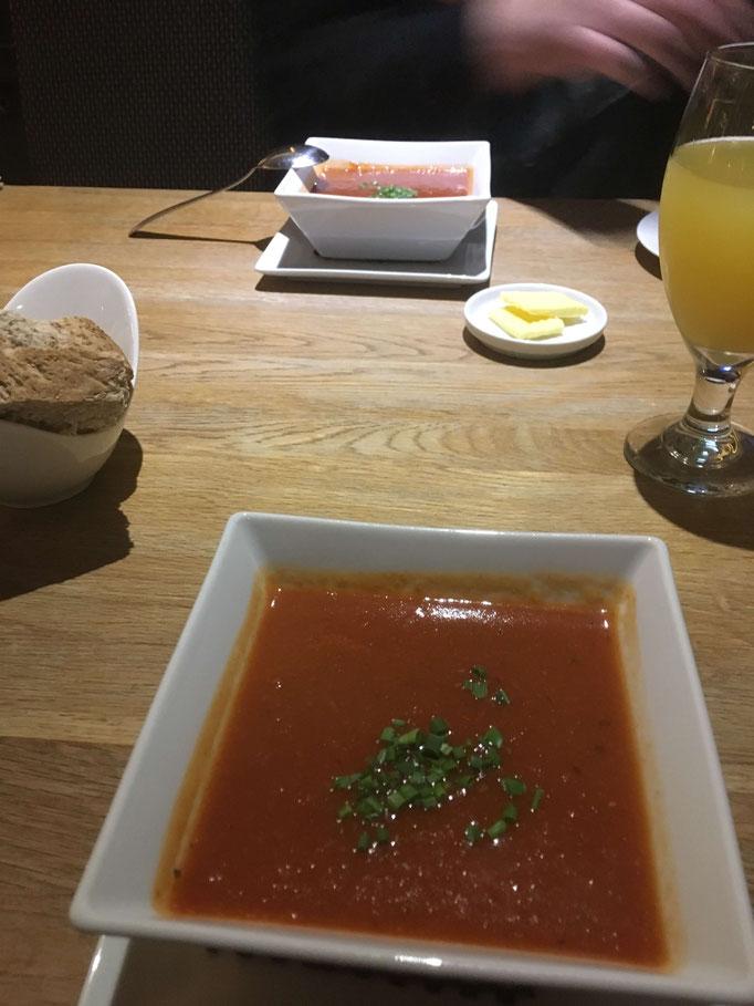 Hausgemachte Tomatensuppe