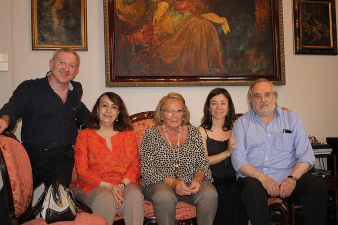 Gassiot, Garriga, Zabaleta, Aragall, Academia Marshall