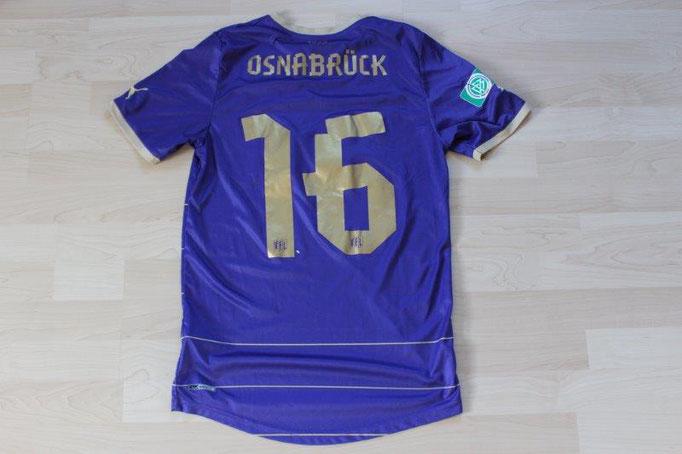 VfL Osnabrück 2012/13 Heim, B-Junioren U17, Nr. 16 Maximilian Schulte (Matchworn)