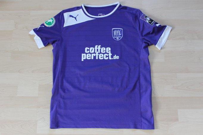 """VfL Osnabrück 2012/13 Heim, """"Fanoffensive"""" Badge (05.08.2012 - Offenbach) Nr. 14 Beermann (Matchvorbereitet)"""