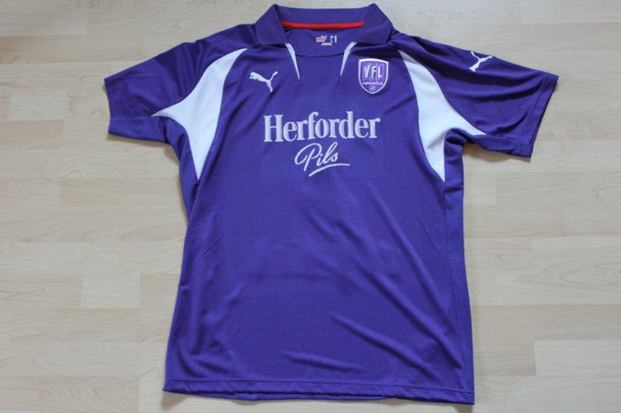 VfL Osnabrück 2007/08 Heim, DFB-Pokal (04.08.07-Gladbach), Nr. 3 Schanda (Matchworn)