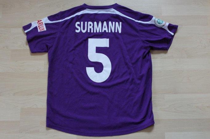 VfL Osnabrück 2006/07 Heim, Nr. 5 Surmann mit Autogrammen (evtl. Matchworn)