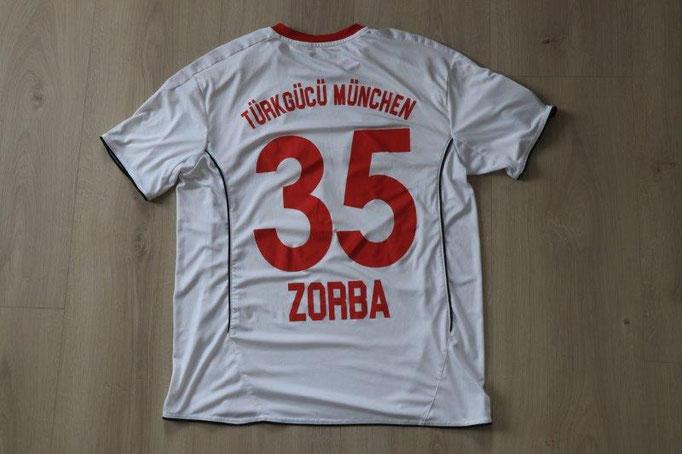 Türkgücü München Away, Nr. 35 Zorba (Matchworn)