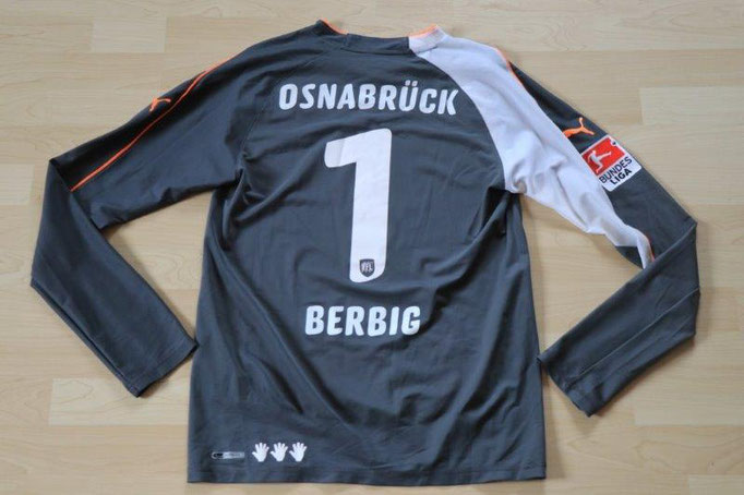 VfL Osnabrück 2010/11 Torwart, Nr. 1 Berbig (Matchworn)