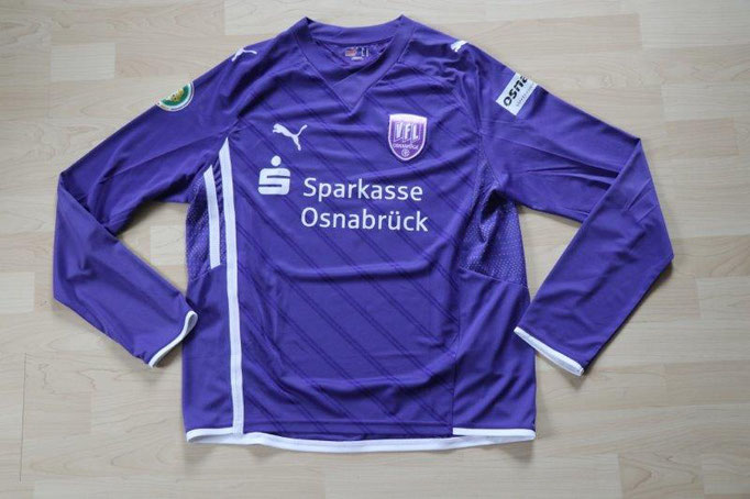 VfL Osnabrück Heim, DFB-Pokal 10.02.10 Schalke, Nr. 30 Hansen (Matchworn)