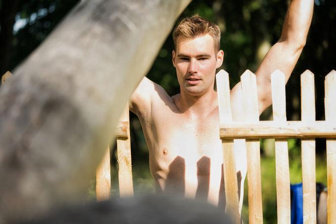Sport Fotostrecke - Outdoor Traning auf dem Trimm Dich Pfad mit Sebastian Schlüter