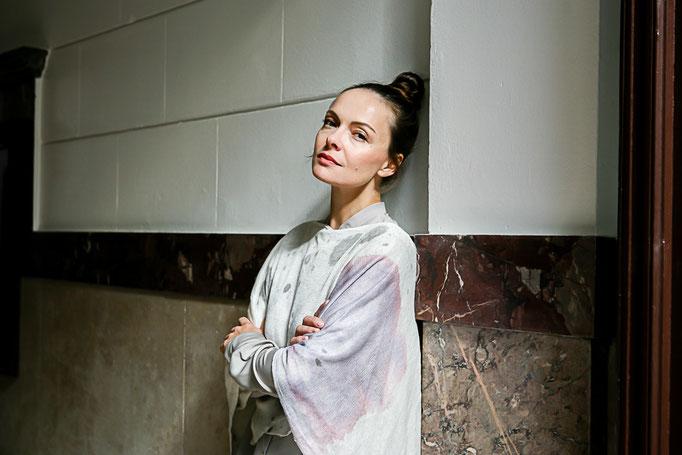 Photoproduktion by Melina Johannsen - Mode: Skrabak, Gesine Jost, Martin Natur Schuhe - Model: Elena Halangk
