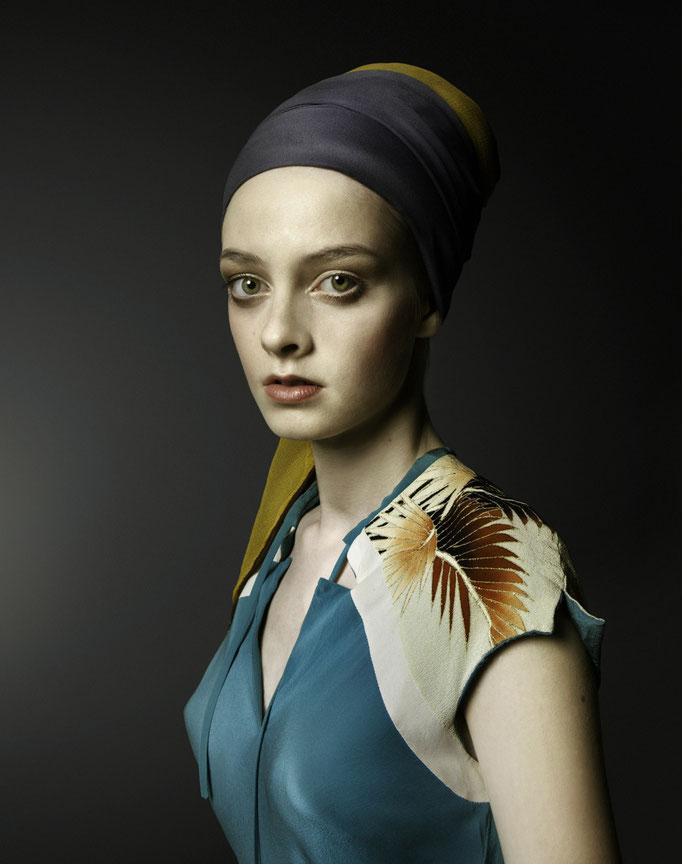 """Das Mädchen mit dem Perlenohring""  Photo: Andrea Küppers /H&M: Melina Johannsen"