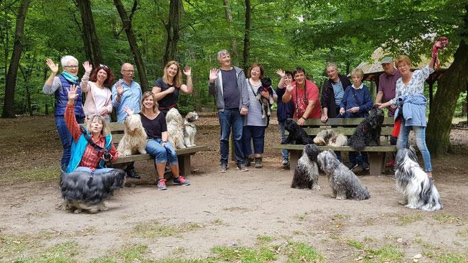 Juni in Frankfurt: Gruppenbild