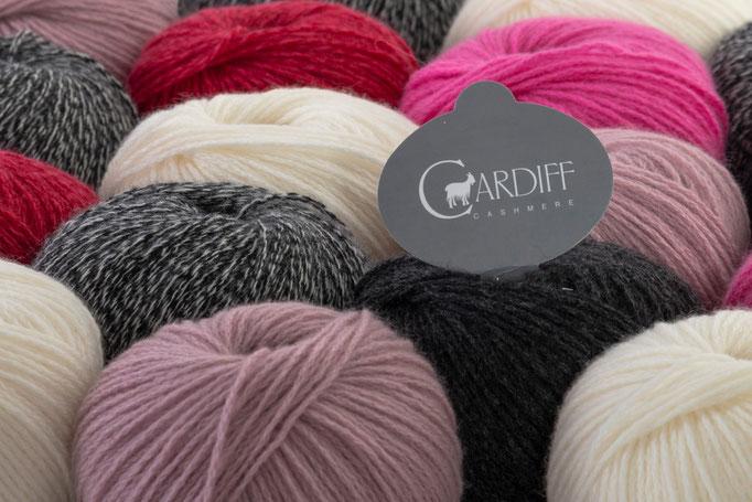 Das Unternehmen Cardiff, mit Sitz in Biella, Italien, hat sich auf die ausschließliche Produktion von feinstem Kaschmir für  Luxusbekleidung  spezialisiert.