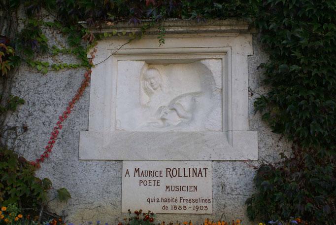 La fresque de Rodin consacrée à Maurice Rollinat