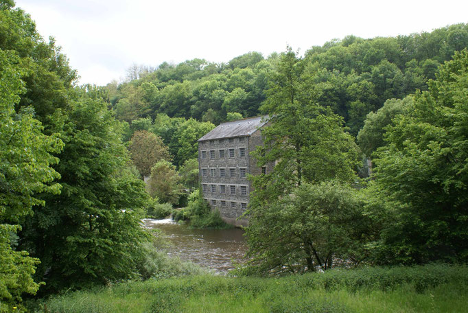 Le moulin de Vervy peint par Monet