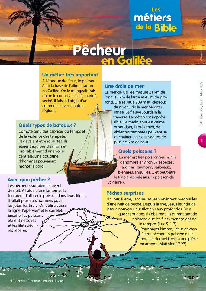 Métiers de la Bible - Pêcheurs en Galilée - Tournesol 400
