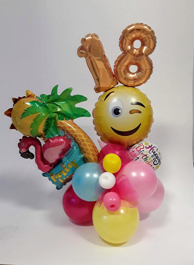 Multibouquet. Der neue Trend. Individuell zusammengestellt aus vielen bunten Ballons. Einzigartig. Neu. Traumhaft schön.