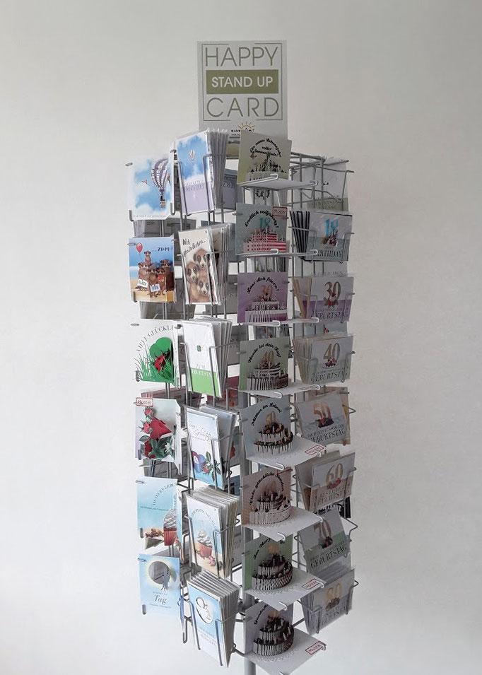 Stand Up 3-D Karten. Geschenkkarten und Glückwunschkarten für Hochzeit, Geburtstag, Geburt, saisonalen Anlässen und vielem mehr.