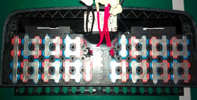 Interior batería Ninebot