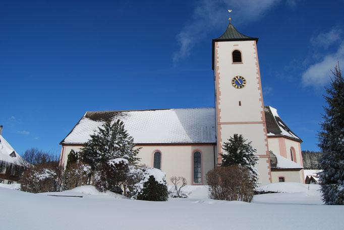 Die Kirche in Breitnau
