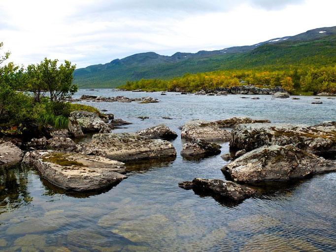 Kunglseden in Lappland - Sweden - Abiskojaure © François Struzik - simply human 2015