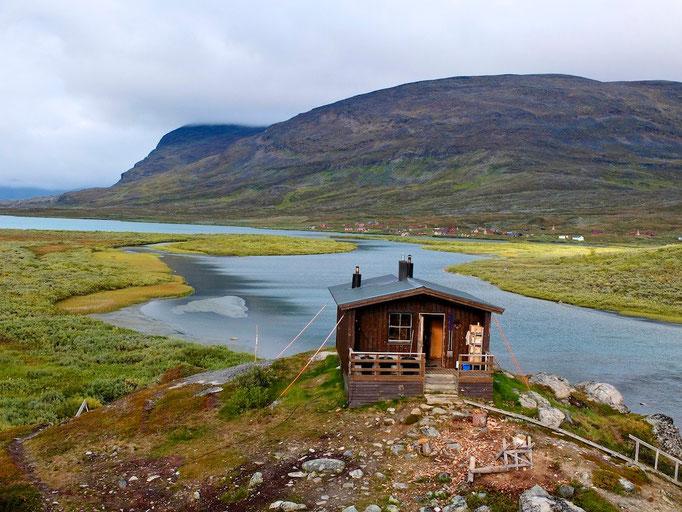 Kunglseden in Lappland - Sweden - Alesjaure sauna © François Struzik - simply human 2015