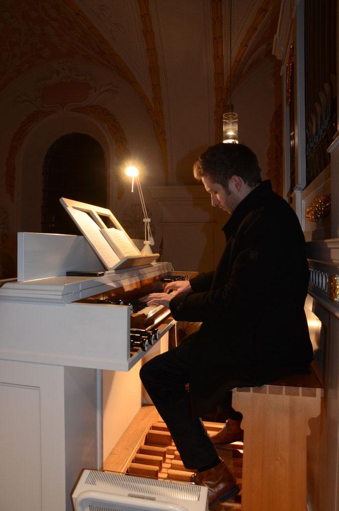 Max-Maerz-Orgel in der Alten Sendlinger Kirche