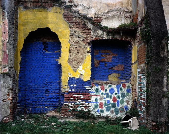 Pio Tarantini - Muro #17, Quartiere Isola, Milano 2006