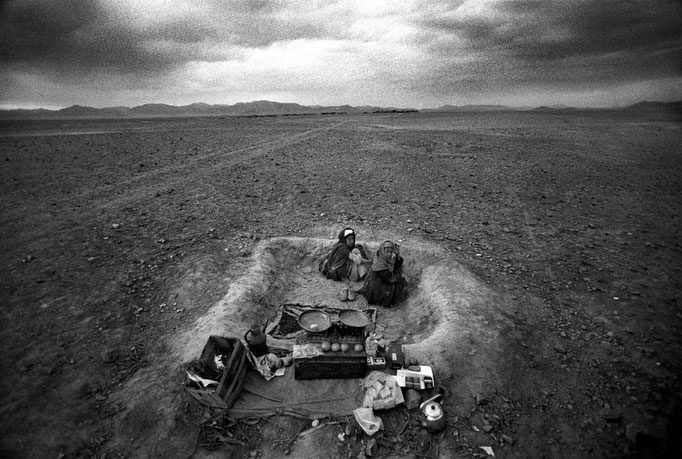 Francesco Cito - Along the tracks, Afghanistan 1989
