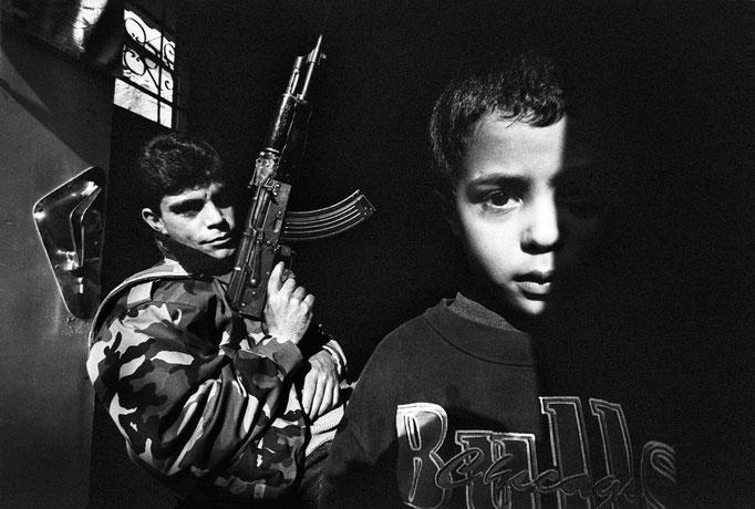 Francesco Cito - Ricercato 01, Gaza (Palestina) 1993
