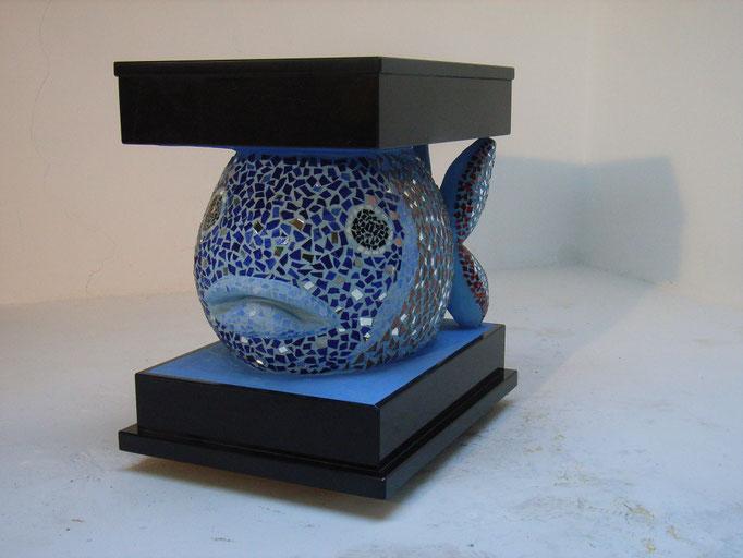 Aquarium Skulptur von Roswitha Farnsworth