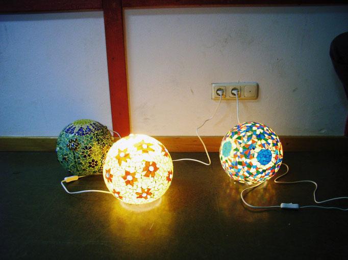 Lichtobjekt aus Tiffanyglas - Workshop