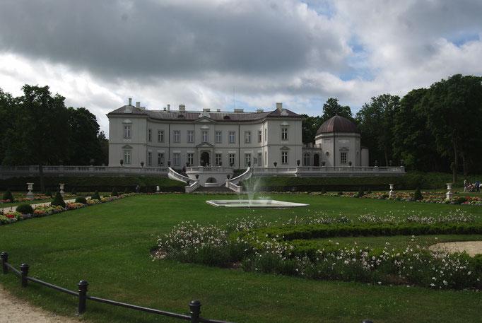 Le palais abritant le musée