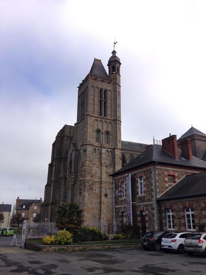 La cathédrale.