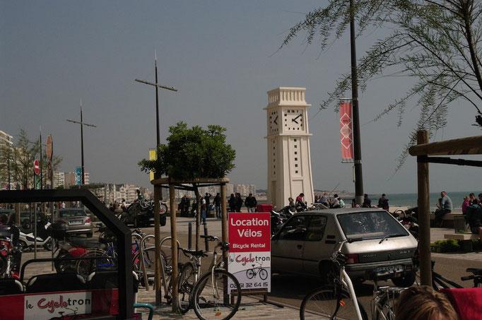 L'horloge du Remblai