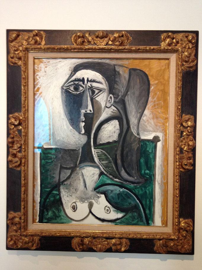 Pablo Picasso - Buste de femme assise