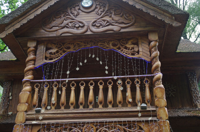 Le balcon de sa maison