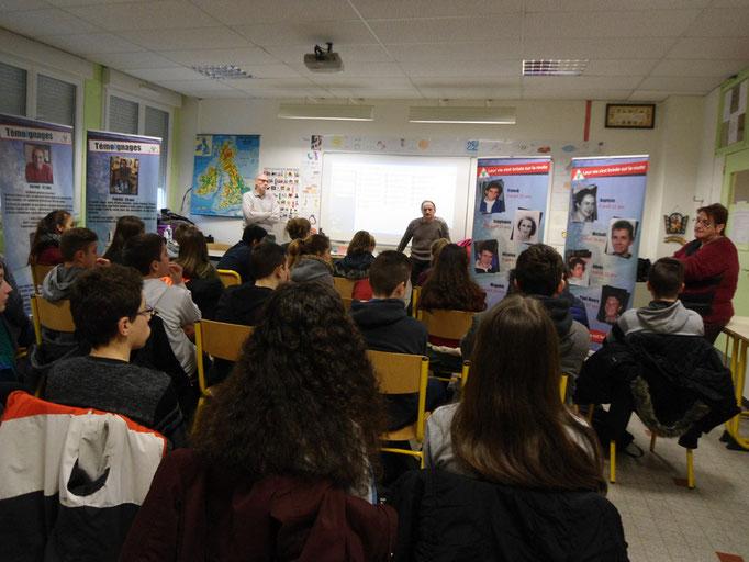 Collège Jules Vallès - Le Puy en Velay - 7 mars 2017