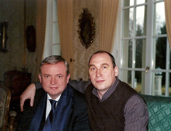 Mit Dr. Frank Schwarzer
