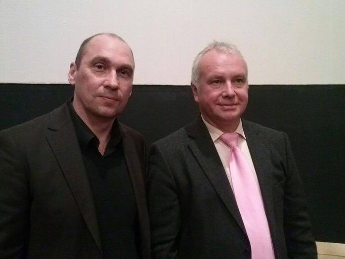Mit Alexander Rahr, deutscher Osteuropa-Historiker, Lobbyist, Politologe und Publizist