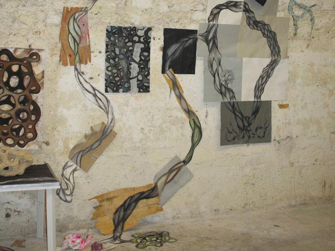 o.T. (Installation auf einer Studienfahrt) (2009)